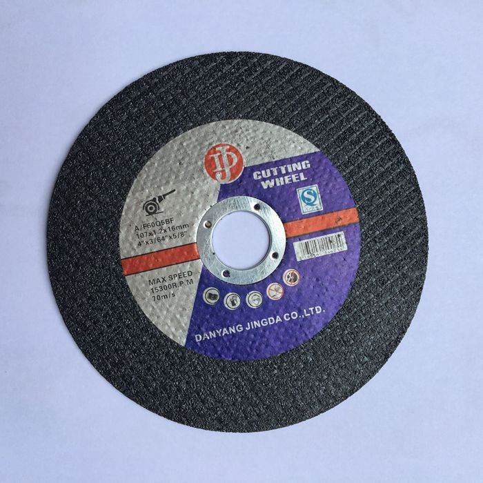 super thin black cutting disc 107*1.0*16mm